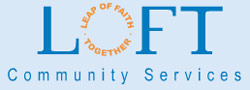 logo for LOFT Community Services