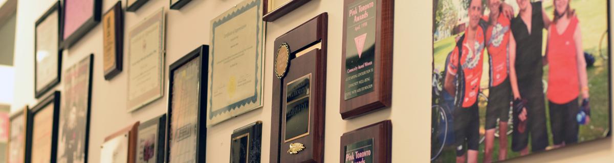 PWA plaques
