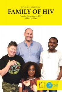 PWA 2016 2017 Family of HIV