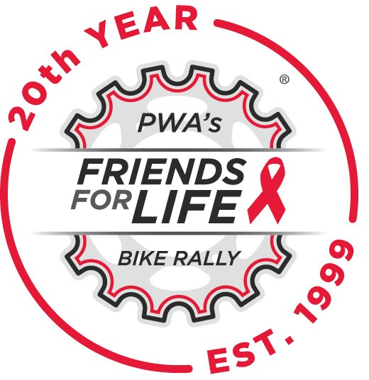 Bike Rally 20th Anniversary logo