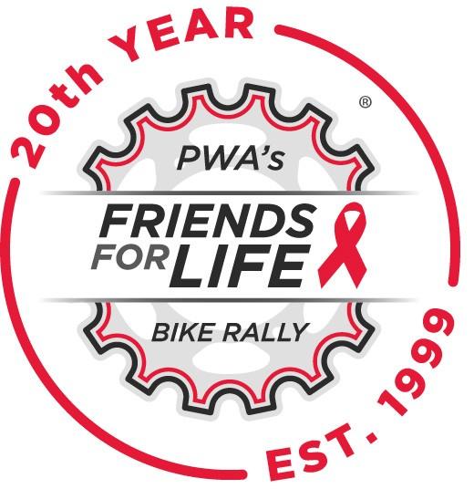 Bike Rally 20th Anniversary logo